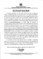 A Câmara de São Felipe D' Oeste convoca a advogada aprovada no ultimo concurso Publico.
