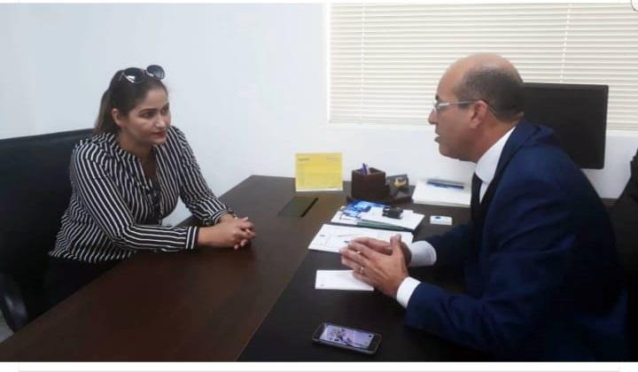 Antônia Ferreira volta a Porto Velho no Gabinete do Deputado Estadual Ismael Crispim.