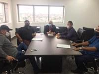 Reunião com o Deputado Estadual Ezequiel Neiva