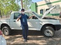 Vereador e Secretario de Obras buscam Camionete