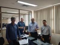 Presidente da Câmara e outros  Vereadores participa de uma Reunião no TCE-RO