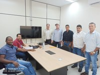 Vereadores e Prefeito de  São Felipe  em visita ao TCE- RO.