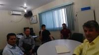 Vereadores Participam de Reunião na CAERD em Porto Velho.