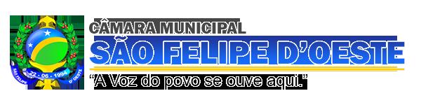 CÂMARA MUNICIPAL DE SÃO FELIPE D'OESTE